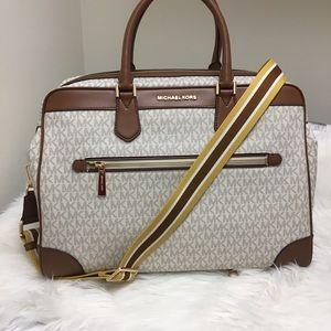 Michael Kors travel luggage bag